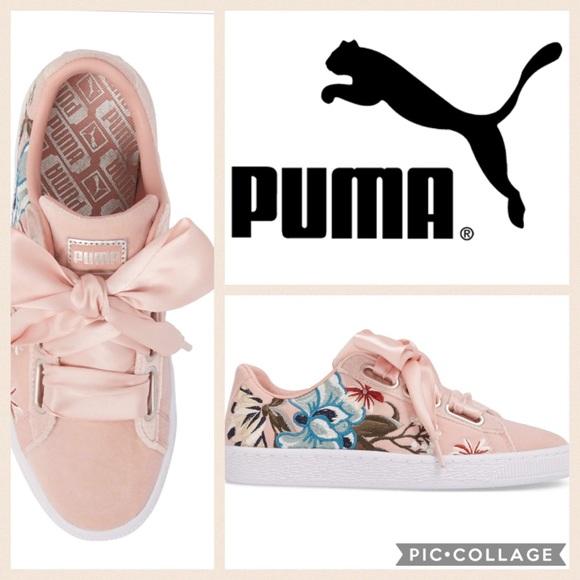 puma basket heart hyper